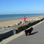 St martin de brehal plage Granville, Normandie