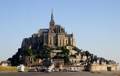 Le Mont St-Michel en Normandie