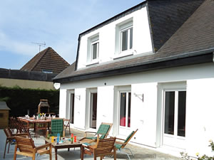 Grande maison de plage de 6 ch. en Normandie. Pour 12.